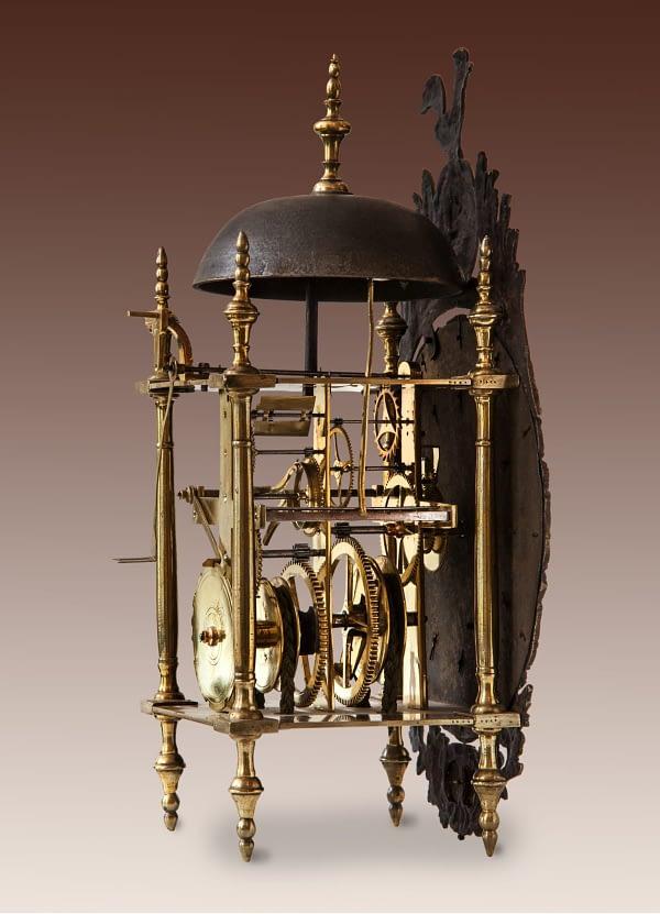 Franse lantaarnklok Rousseau à Nemours
