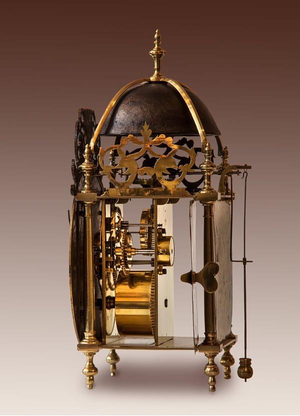 Franse lantaarnklok voor op tafel Boisgontier à Paris 1752