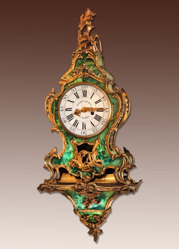 Louis XV-consoleklok